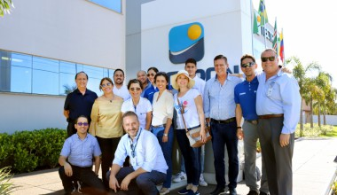 TECTRON receives a group of international visitors